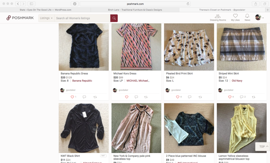 Social Commerce In My Closet:  Getting the most out of what I don't wear
