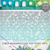 Bonnaroo Lineup 2009