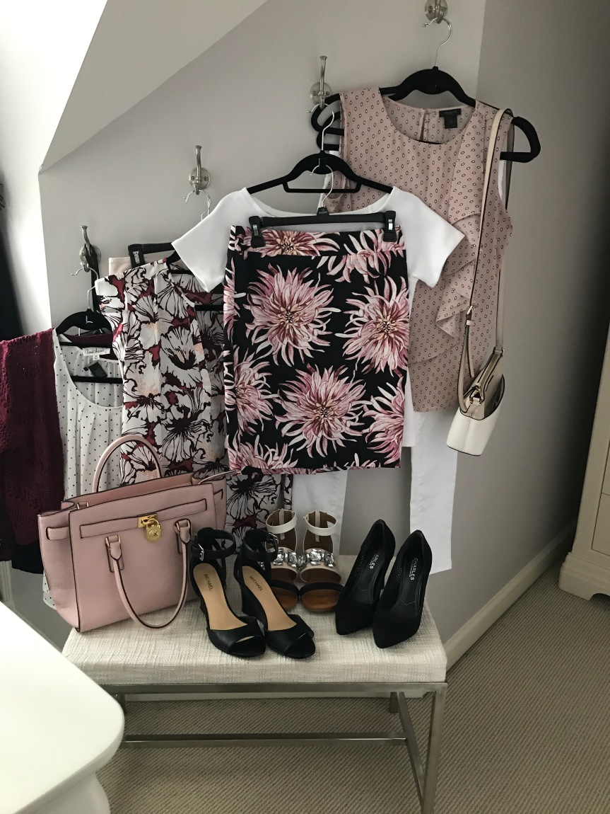 Burgundy and Blush and an Ann Taylor Addiction