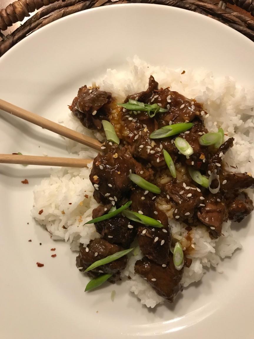 Crockpot Mongolian Beef