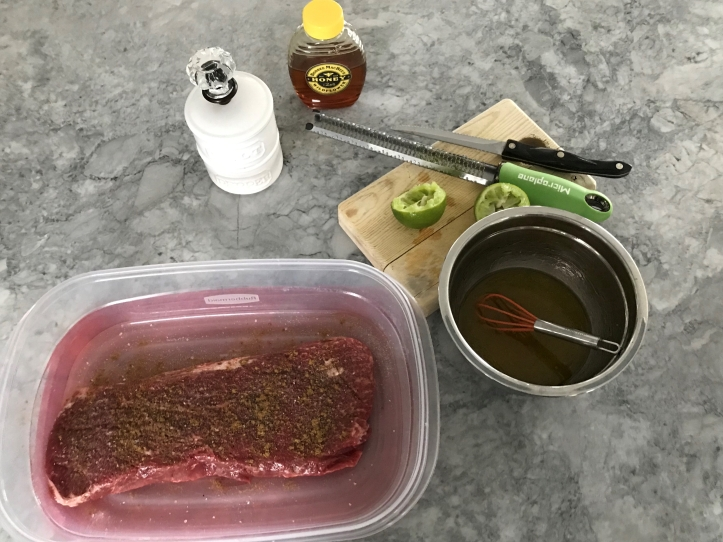Tequila Lime Marinade for Flatiron Steak