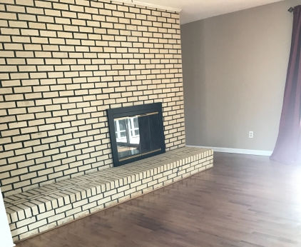 Brick Wall In Living Room