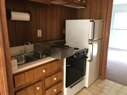 Basement Kitchen Before