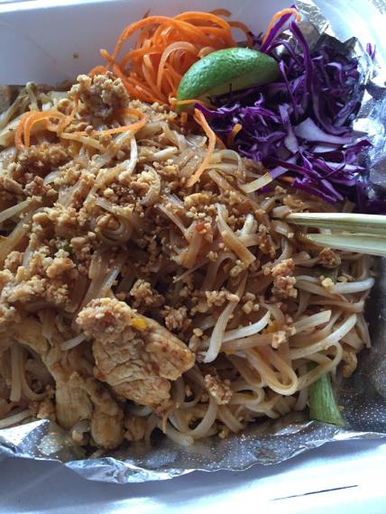 Pad Thai from Chon Ngern in Canton, GA