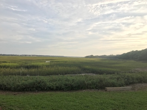 Beautiful marsh outside of Old Oyster Factory