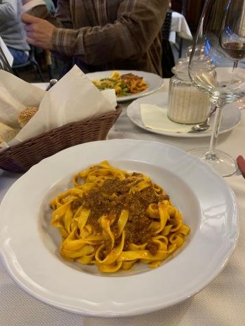 Bolognese at Trattoria Oberdan